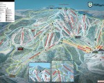 2015-16 Killington Trail Map