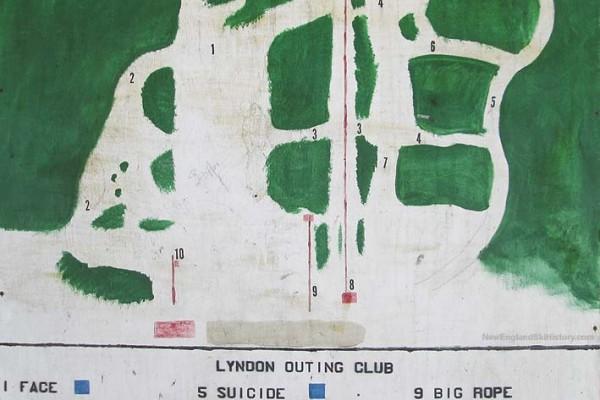 2013-14 Lyndon Outing Club Trail Map