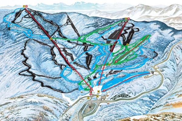 2018-19 Mad River Glen Trail Map