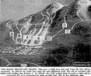 1960 Magic Mountain Development Map