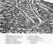 1962-63 Magic Mountain Trail Map