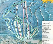 1978-79 Magic Mountain trail map