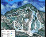 2014-15 Middlebury College Snow Bowl trail map
