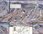 1993-94 Mount Snow Trail Map
