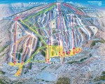 2014-15 Mount Snow trail map