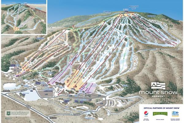 2020-21 Mt. Snow Trail Map