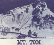 1968-69 Mt. Tom Trail Map