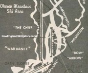 1962-63 Okemo Trail Map