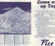 1968-69 Pico Trail Map