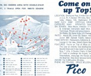 1969-70 Pico trail map