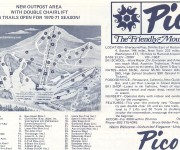 1970-71 Pico Trail Map