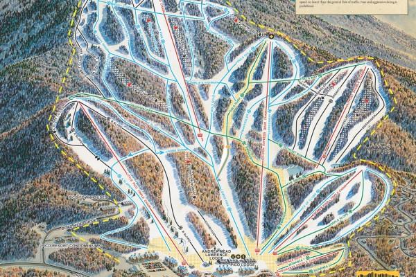 2018-19 Pico Trail Map