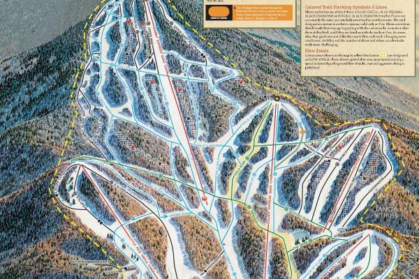 2020-21 Pico Trail Map