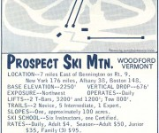 1964-65 Prospect Mountain Trail Map