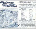 1964-65 Madonna Mountain Trail Map