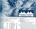 1967-68 Madonna Mountain Trail Map