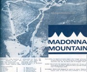 1969-70 Madonna Mountain trail map