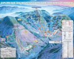 2013-14 Smugglers Notch trail map