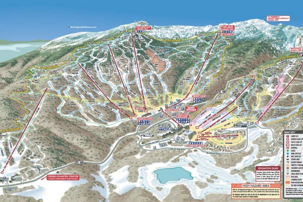 2020-21 Stowe Trail Map