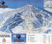 1992-93 Stratton Trail Map