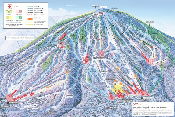 2020-21 Stratton Trail Map