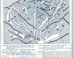 1964-65 Sugarbush Valley Trail Map