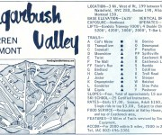 1967-68 Sugarbush Valley Trail Map