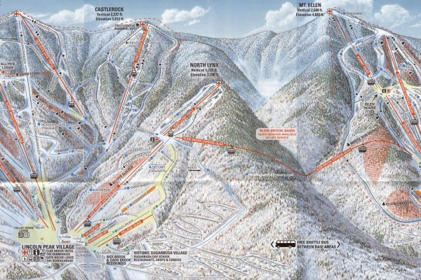 2018-19 Sugarbush Trail Map