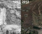 Mt. Southington Aerial Imagery, 1992 vs. 2012