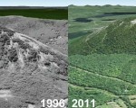 Bald Mountain Aerial Imagery, 1991 vs. 2011