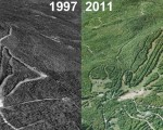 Mt. Abram Aerial Imagery, 1997 vs. 2011
