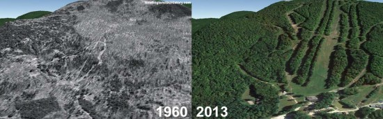 Berkshire East Aerial Imagery, 1960 vs. 2013