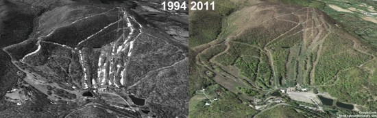Catamount Aerial Imagery, 1994 vs. 2011