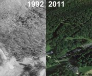 Easton Aerial Imagery, 1992 vs. 2011