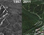 Jiminy Peak Aerial Imagery, 1997 vs. 2011