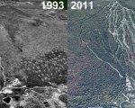 Bretton Woods Aerial Imagery, 1993 vs. 2011