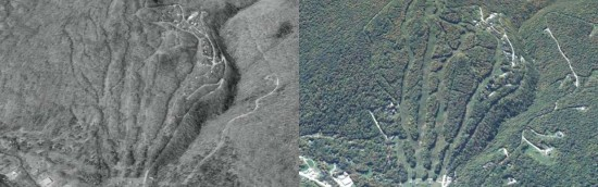 Roundtop/Bear Creek Aerial Imagery, 1994 vs. 2012