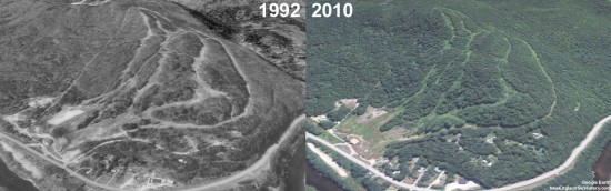 Maple Valley Aerial Imagery, 1992 vs. 2010