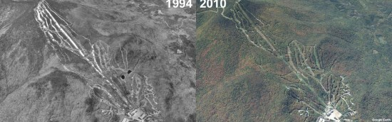 Pico Aerial Imagery, 1994 vs. 2010