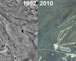 Stratton Aerial Imagery, 1992 vs. 2010